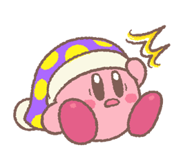 Kirby's Puffball Sticker Set 10