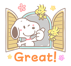 Lovely Snoopy Stickers 10