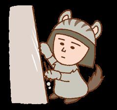 Chibi Maruko-nyan ਸਟਿੱਕਰ 10