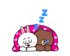 Brown & Cony's Heaps of Hearts! Stickers 10