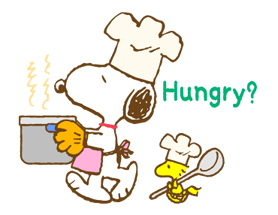 Super Spring Snoopy Stickers 10