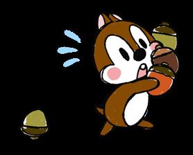 Chip 'n' Dale: Pegatinas adecuadamente lindo 10
