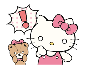 Hello Kitty's Daily Cuteness Stickers 10