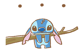 Stitch Cuteness Stickers 10