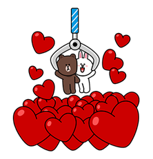 Brown & Cony ini Big Love Stiker 10