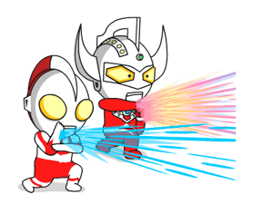 Stickers Ultraman 10