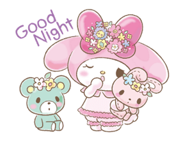 My Melody: Too Cute for You! Stickers 11