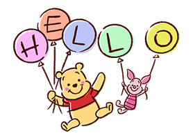 Winnie The Pooh Stickers 11