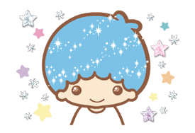 Little Twin Stars: Twinkly Stickers 11