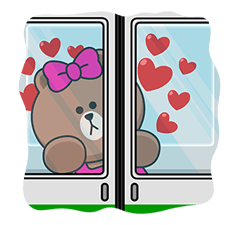 CHOCO & Pangyo's Love Punch Stickers 11