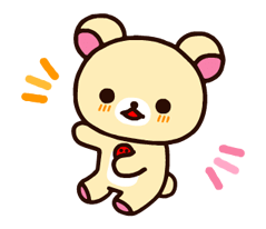 Rilakkuma~Korilakkuma with a new friend~ Stickers 11