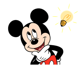 Mickey Mouse Adhesius 15