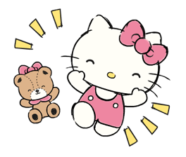 Hello Kitty's Daily Cuteness Stickers 11