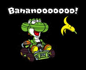 Mario Kart Stickers 11