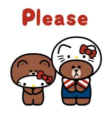 LINE Friends & HELLO KITTY 11