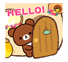 Rilakkuma: Chairoikoguma Stickers 11