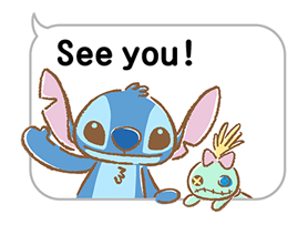 Stitch Cuteness Stickers 11