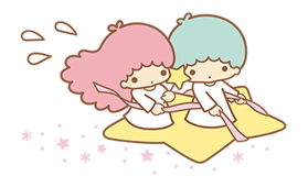 Little Twin Stars Sparkling Stickers 15