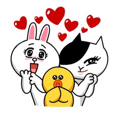 LINE Characters: Burning Emotion Stickers 11