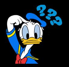 Donald Duck Наклейки 11