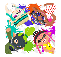 Splatoon: Inkling Αυτοκόλλητα Injection 11