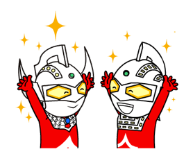 Stickers Ultraman 11