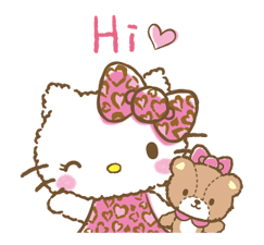 Hello Kitty: adhesius adorables