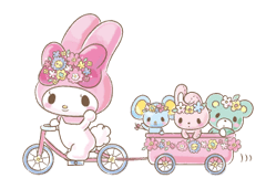 My Melody: Too Cute for You! Stickers 12