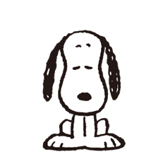Snoopy in Disguise Stickers 12