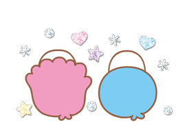 Little Twin Stars: Twinkly Stickers 12