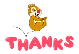 Chip 'n' Dale Stickers 12