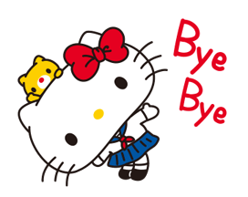 Hello Kitty: Simple i dolç Stickres