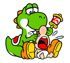 Talking Super Mario Stickers 12