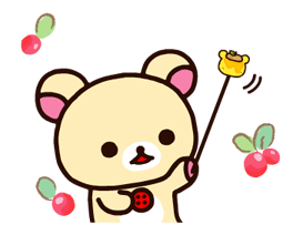 Rilakkuma~Korilakkuma with a new friend~ Stickers 12