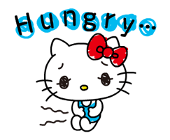 Hello Kitty's Quick Replies! Stickers 12