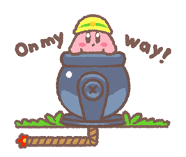 Kirby Puffball Sticker Seti 12
