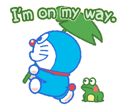 Doraemon's Everyday Expressions Stickers 12