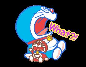Doraemon & Dorami klistremerker 12