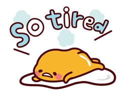 gudetama: Nice and Over Easy Stickers 12
