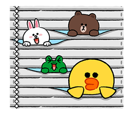 LINE Characters Fun Size Pack Stickers 12