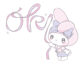 LARME x My Melody Stickers 12