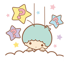 Little Twin Stars Sparkling Stickers 16