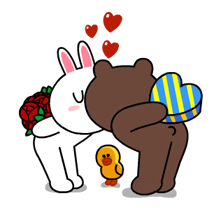 Brown & Cony's Thrilling Date Stickers 12