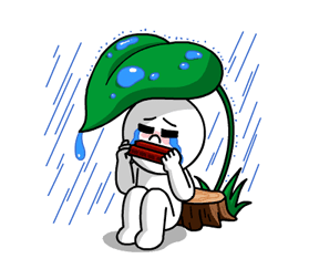 LINE Characters: Burning Emotion Stickers 12