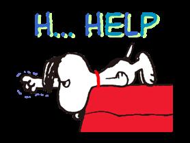 Snoopy Наклейки 12