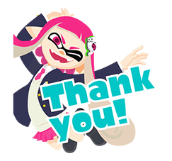 Splatoon: Inkling Injection Stickers 12