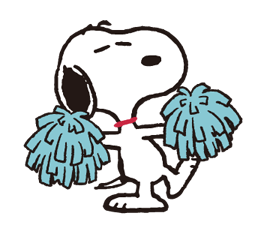 SNOOPY★Vintage Stickers 24