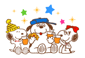 SNOOPY & Woodstock Stickers 14