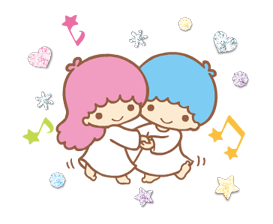 Little Twin Stars: Twinkly Stickers 13