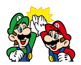 Talking Super Mario Stickers 13